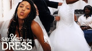 Bride Wants a Bootylicious Dress That Will Show Off Her Assets | Say Yes To The Dress UK