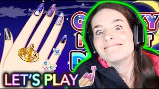 NAIL PAINTING GAME! Let's play together