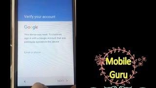 LYF Wind 7 LS 5016 FRP Reset Google Account Bypass By mobile Guru