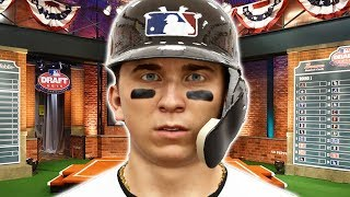 The Combine And MLB Draft! MLB The Show 19 Road To The Show #1