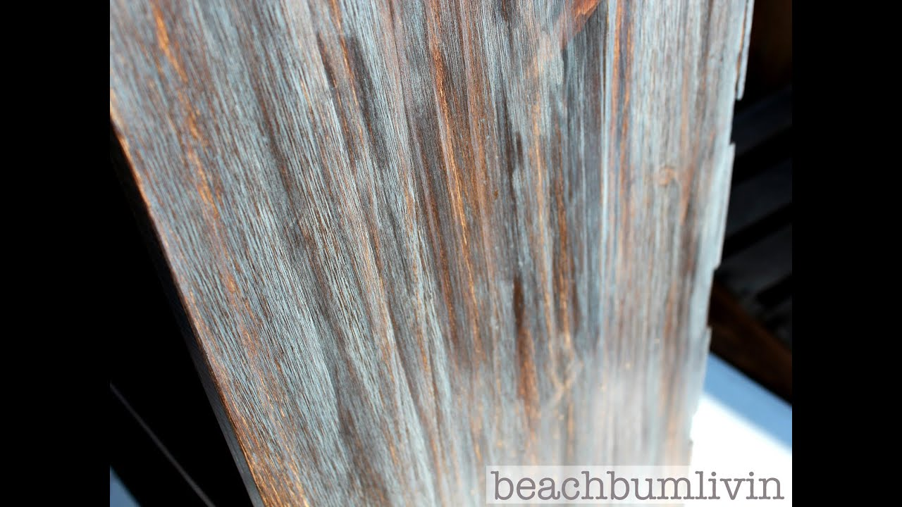 How To Layer Stain For A COOL Look Furniture Finishing