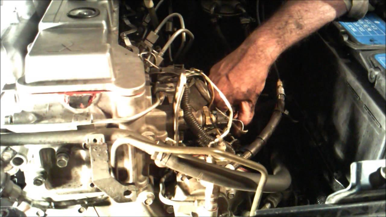 Ford 2004 Injector Wiring Diagram 6 0 Diesel Mitsubishi 4m40 Wmv Youtube
