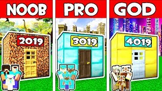 Minecraft - NOOB vs PRO vs GOD : FAMILY TIME MACHINE in Minecraft Animation