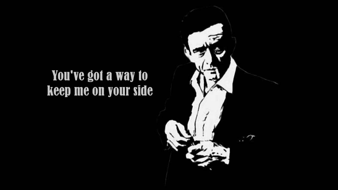 Cigarette Quotes Wallpaper Johnny Cash I Walk The Line Lyrics Youtube