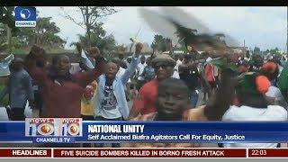 Self Acclaimed Biafra Agitators Protest In Umuahia, Abia State 28/06/17 Pt. 1