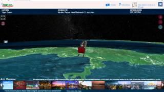 Norad Santa - Santa Tracker LIVE