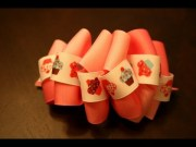 loopy bubble hairbow tutorial
