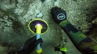 Scuba Diving the Devil's Den for Lost Valuables! (Found 2 Prehistoric Bones) | DALLMYD