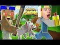 САБВЕЙ СЕРФ В МАЙНКРАФТ ЧЕЛЛЕНДЖ ПОБЕГ ОТ ГРЕННИ ОТ канала GAMES FACTORY Minecraft Subway Surf