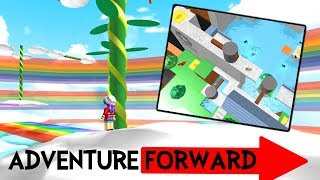ROBLOX ADVENTURE FORWARD 2 | THIS OBBY IS AMAZING! | RADIOJH GAMES