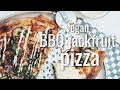 VEGAN BBQ JACKFRUIT PIZZA (#MPGIS #DEANDRATHENEWGIRL COLLAB ) | hot for food