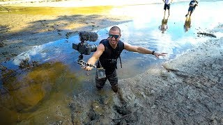 Treasure Hunting: Searching A Drained Lake!! (Deep Mud) | Jiggin' With Jordan