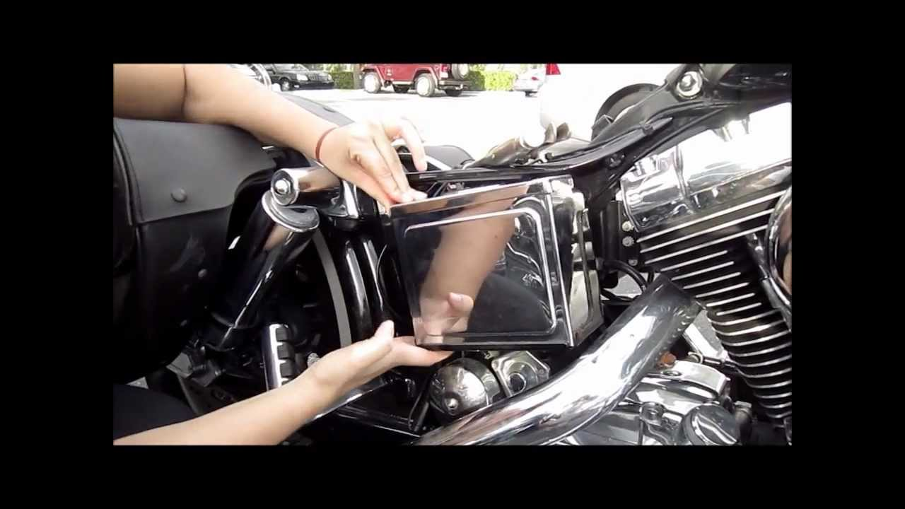 2003 Harley Davidson Fuse Box How To Remove Battery Cover From A Harley Davidson How
