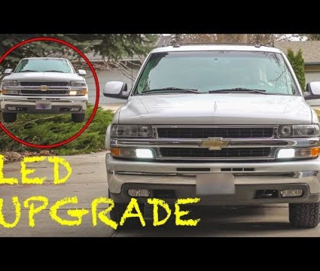Replacing 3157 Daytime Running Light Bulbs With Leds Chevy Gmc