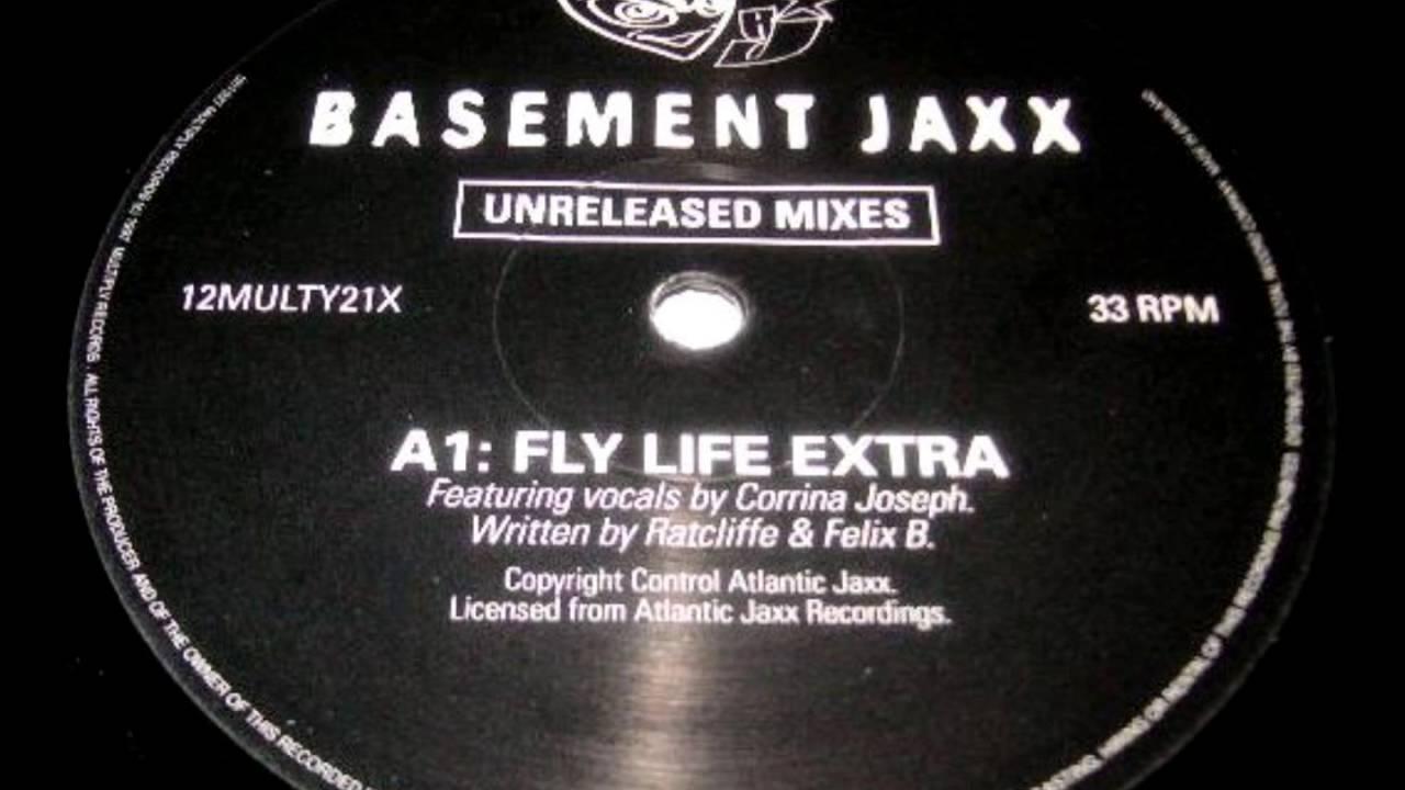 Basement Jaxx  Fly Life (extra) 1997 Youtube
