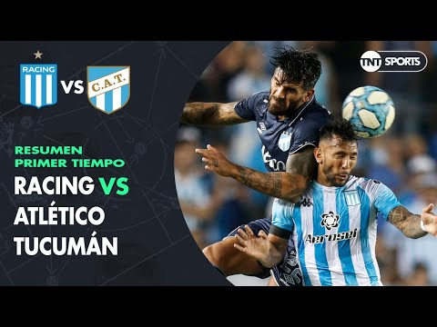 Resumen Primer tiempo: Racing vs Atlético Tucumán | Fecha 17 - Superliga Argentina 2019/2020