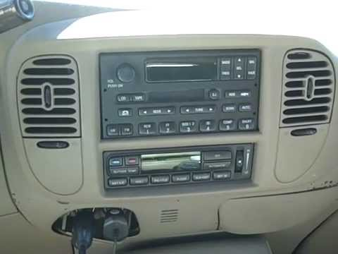 2005 Ford Expedition Stereo Wiring Diagram Ford Expedition Remove Radio Amp Poor Reception Repair Youtube