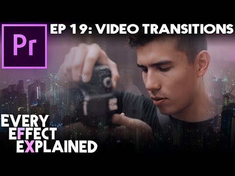 Every Effect in Adobe Premiere Pro Explained - Ep 19 (Video Transitions)