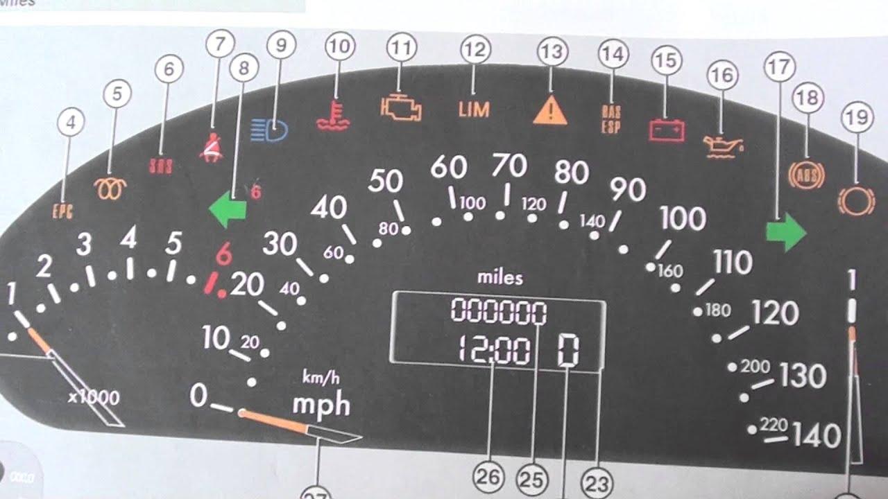 Audi Dash Warning Light Symbols