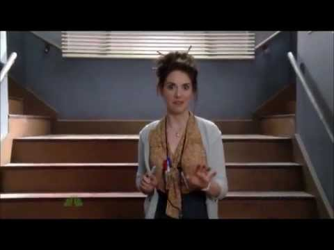 Community - Annie as the crazy Script Girl - YouTube