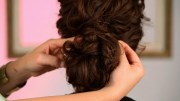 create wedding hairstyle