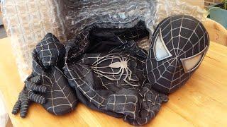 Spider-Man UNBOXING Black Costume - Symbiote Movie Suit