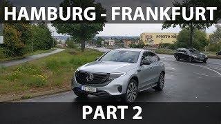 Mercedes EQC from Hamburg to Frankfurt part 2