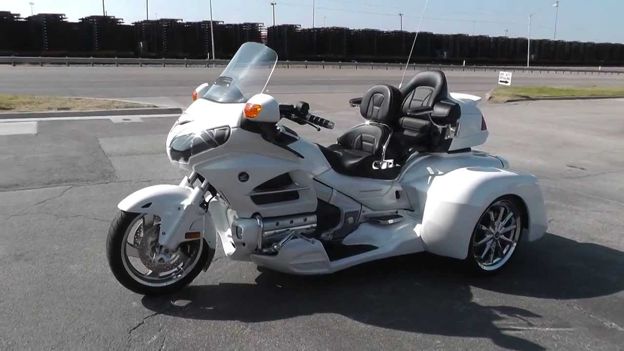 2012 Honda Goldwing Trike GL1800 Used Motorcycle For