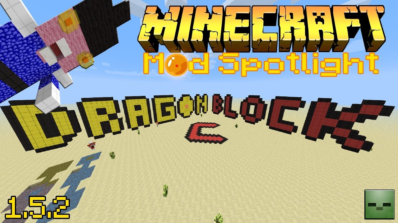 Minecraft Mod 54 Mod Dragon Ball Z 2 1