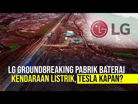 LG Mulai Bangun Pabrik Baterai Kendaraan Listrik Akhir Maret 2021