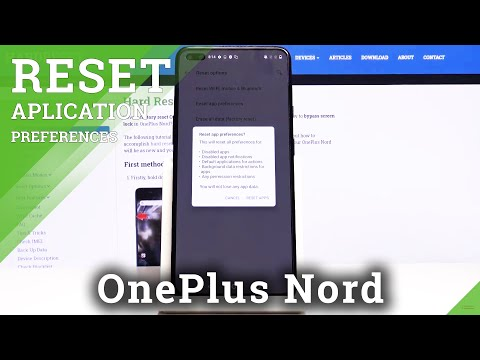 How to Reset App Preferences in OnePlus Nord – Restore App Settings