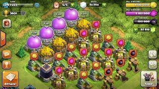 CLASH OF CLANS - MOST RESSOURCES EVER - MORE THAN 18 MILLION INSIDE - Tobi Kaiser