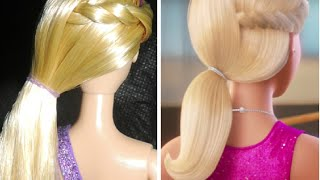 Penteado Barbie Rock'n Royals