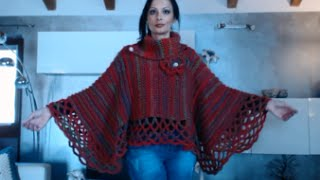 Poncho Mantella Con Scaldacollo Alluncinetto 1 Di 3 Free Download
