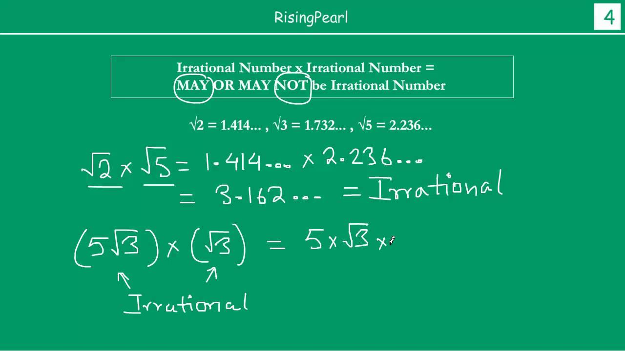 What Are Irrational Numbers