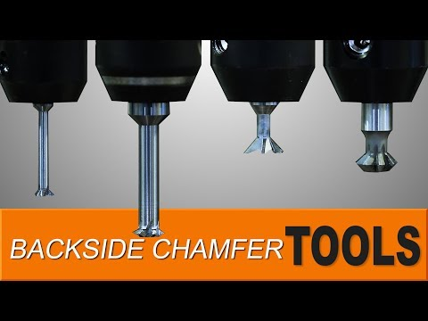 How to use Backside Chamfer Tools! WW184