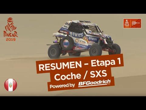 Resumen - Coche/SxS - Etapa 1 (Lima / Pisco) - Dakar 2019