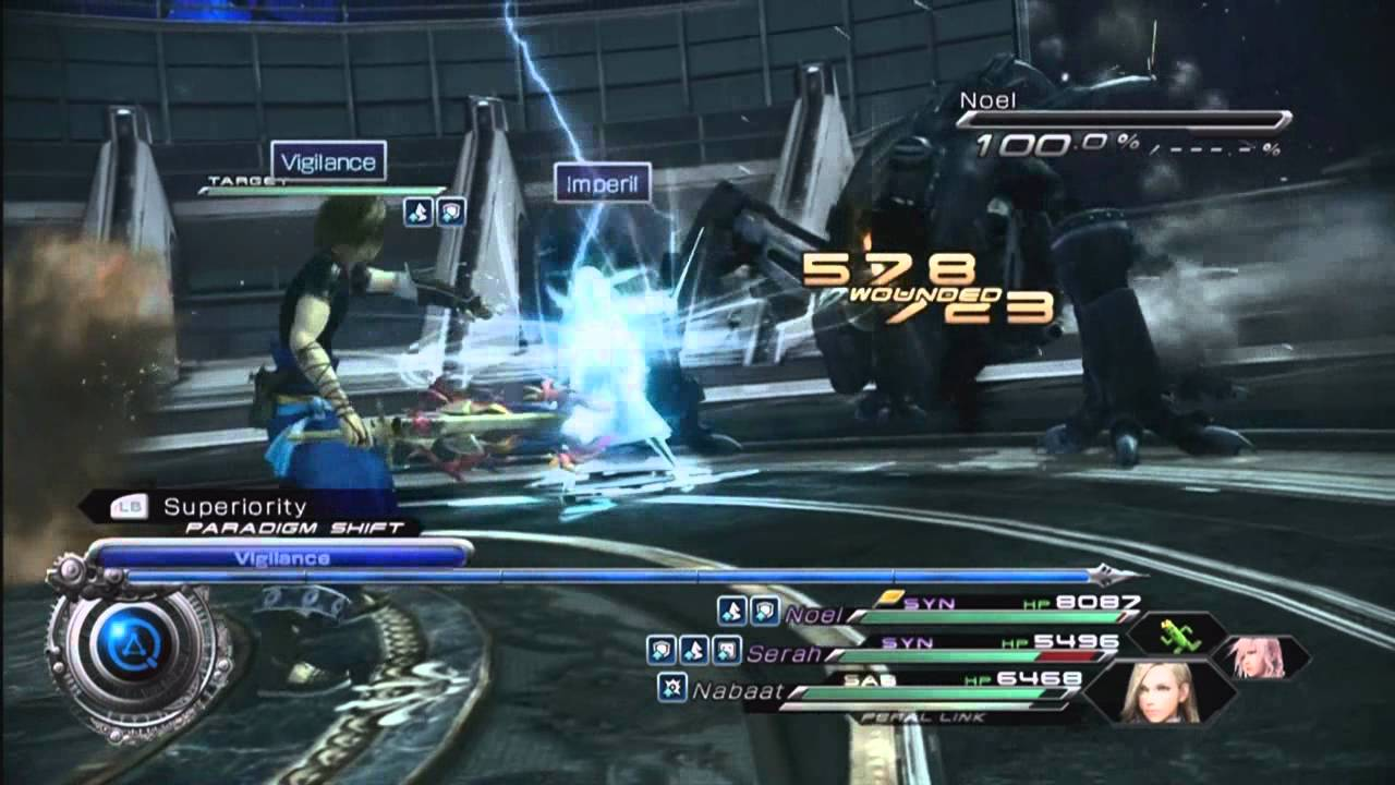 Final Fantasy 13 2 The Hidden Battle With Omega Weapon