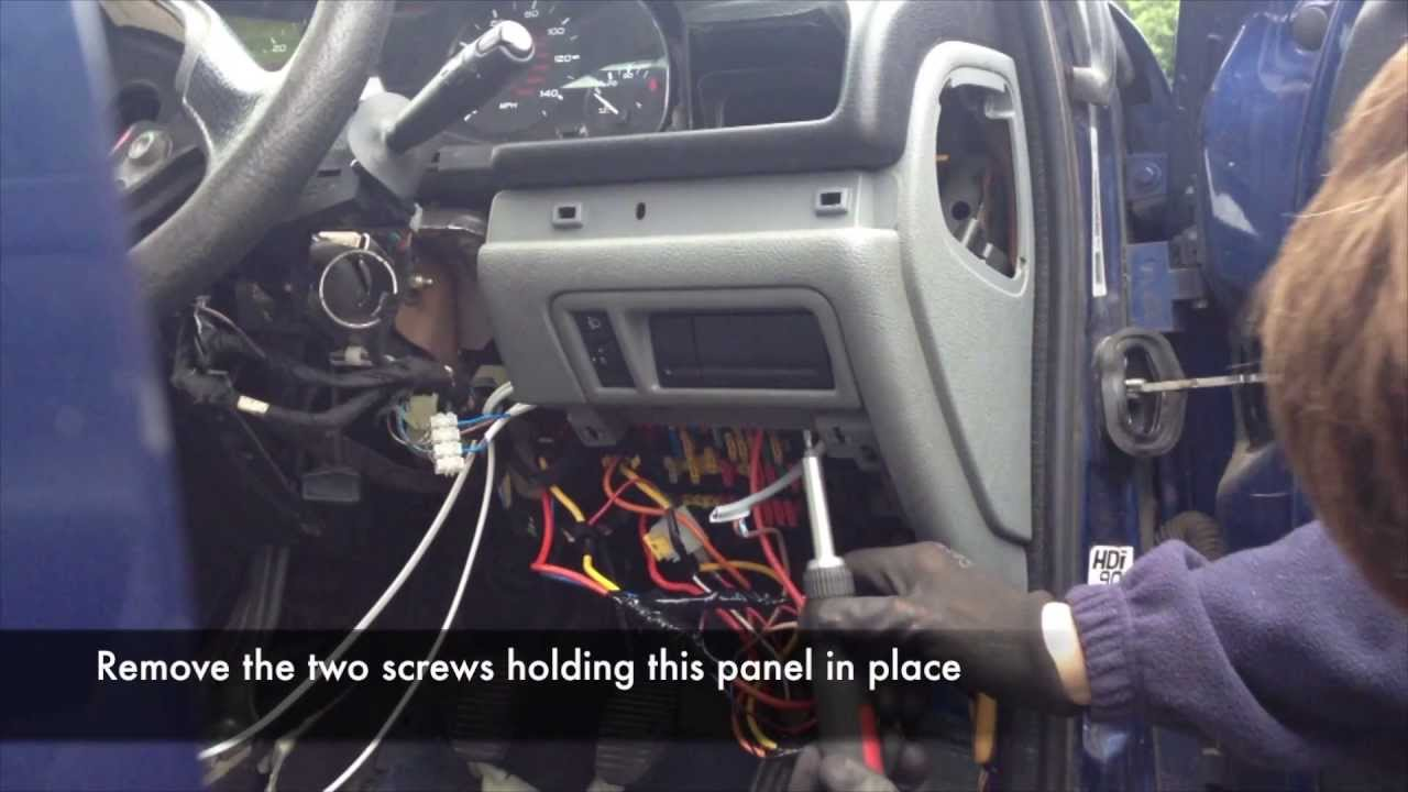 hight resolution of bsi removal peugeot 406 youtube peugeot 207 cc fuse box diagram 2012 peugeot 207 fuse box