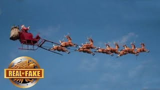 SANTA CAUGHT ON CAMERA - BEST EVER - CONTEST WINNER