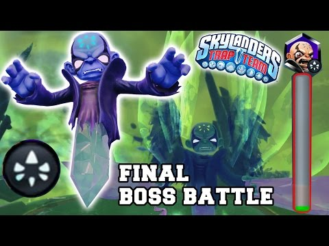 Skylanders Trap Team Final Kaos Boss Battle The Ultimate