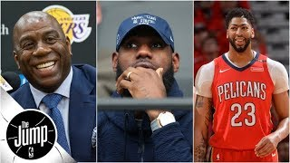 Does Anthony Davis agent news mean he'll join LeBron on Lakers?   The Jump   ESPN