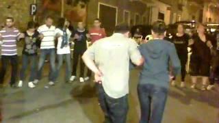 Ballo sardo in piazza a Bultei.....