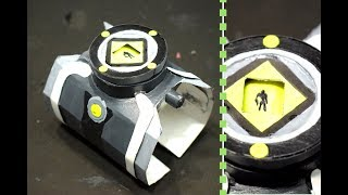 Omnitrix (Original) Ben 10 alien force with Aliens Interface / Alien Viewer -DIY