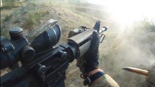 U.S. Soldier Sprints Through Taliban Fire