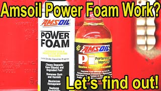 Is Amsoil Power Foam better than Seafoam & MMO? Let's find out!