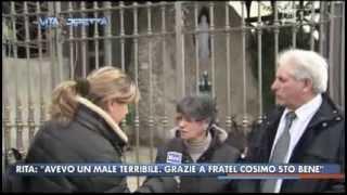 Servizio su Fratel Cosimo - ″La vita in diretta″ - lunedì 17 marzo 2014