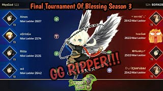 FINAL TOURNAMENT OF BLESSING SEASON 3: MqsGod (S22) VS BORN2B (S24)