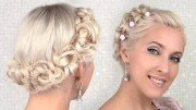 easy prom wedding updo hairstyle