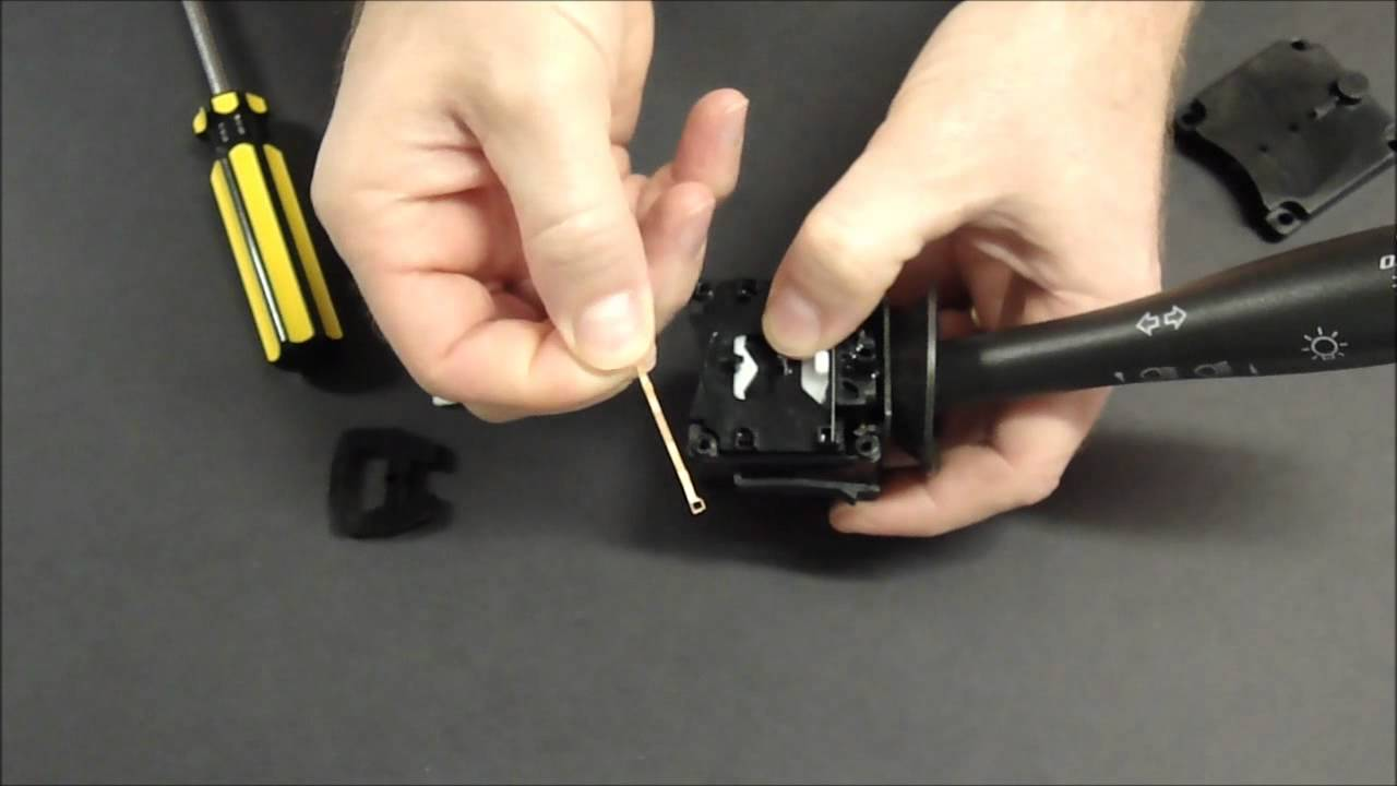 chevy cobalt headlight wiring diagram sunpro super tach ii chevrolet hhr turn signal (won't cancel) lever 10 minute easy fix - youtube